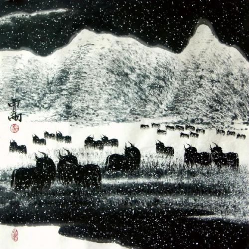 展览预告:传承与经典系列——贾雨山水画作品展_图1-3