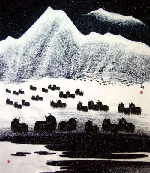 展览预告:传承与经典系列——贾雨山水画作品展_图1-8